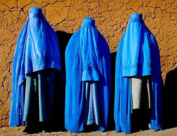 mujeres con burqa